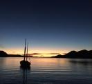 Boat on Coyote Bay, Baja Califorina Sur